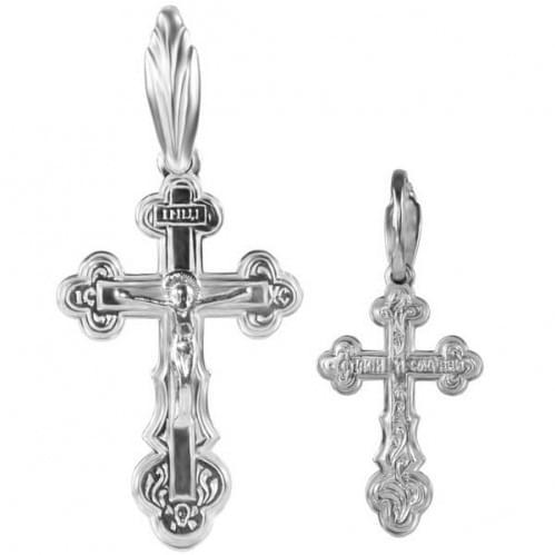 Срібний хрестик КР098с