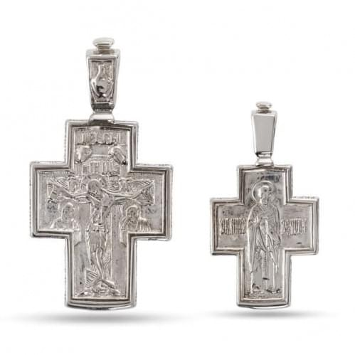 Серебряный крестик КР280с