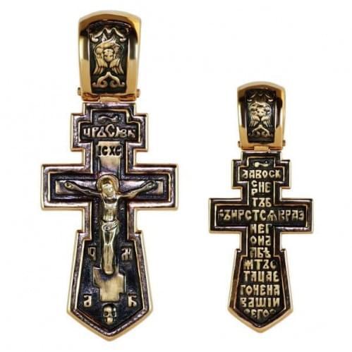 Золотой крестик КР283и