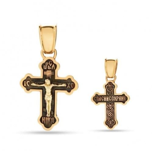 Золотий хрестик КР284и