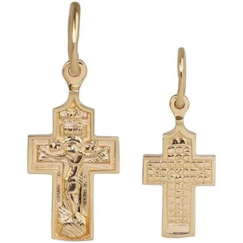 Золотой крестик КР293и