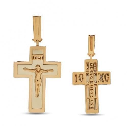 Золотой крестик КР304и