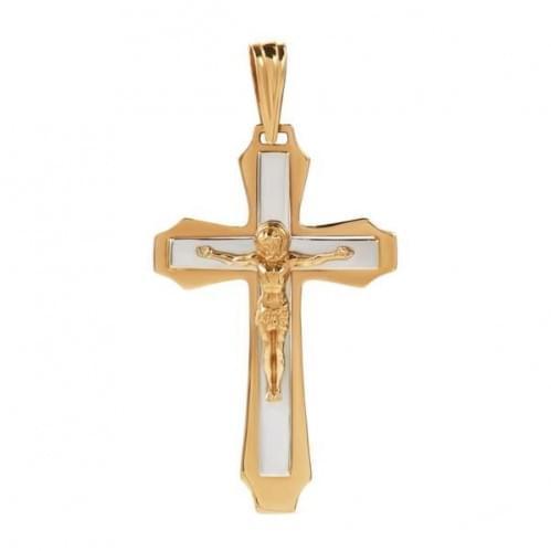 Золотой крестик КР305и