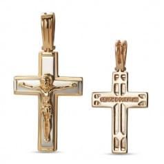 Золотой крестик КР312и