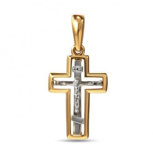 Золотой крестик КР314и