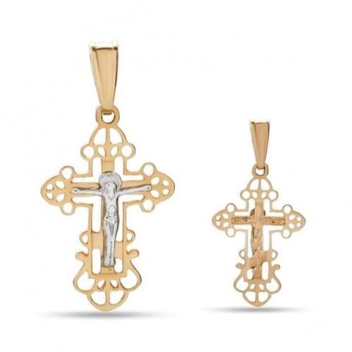 Золотой крестик КР319и