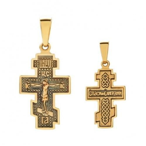 Золотой крестик КР330и
