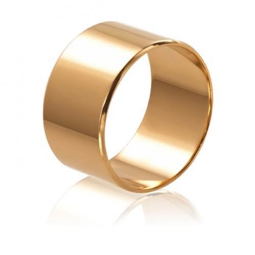 Золотое обручальное кольцо ОК015.10евр