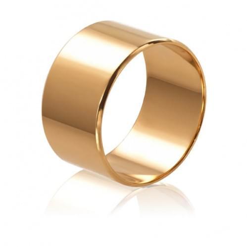Золотое обручальное кольцо ОК015.10.1евр