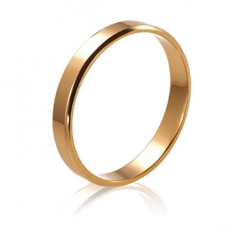 Золотое обручальное кольцо ОК015.3евр
