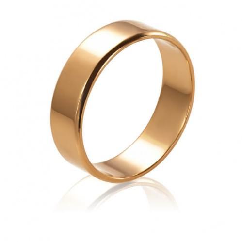 Золотое обручальное кольцо ОК015.5евр