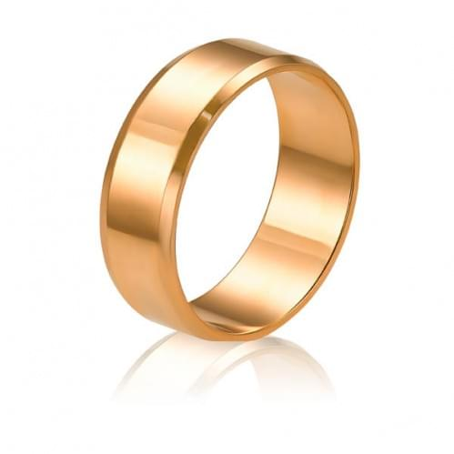 Золотое обручальное кольцо ОК015.6анг