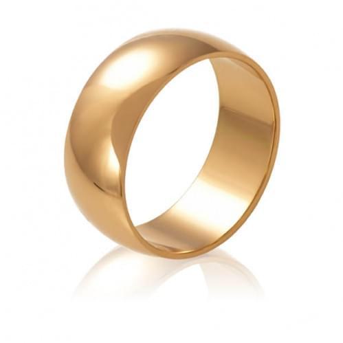 Золотое обручальное кольцо ОК015.7