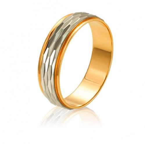 Золотое обручальное кольцо ОК080