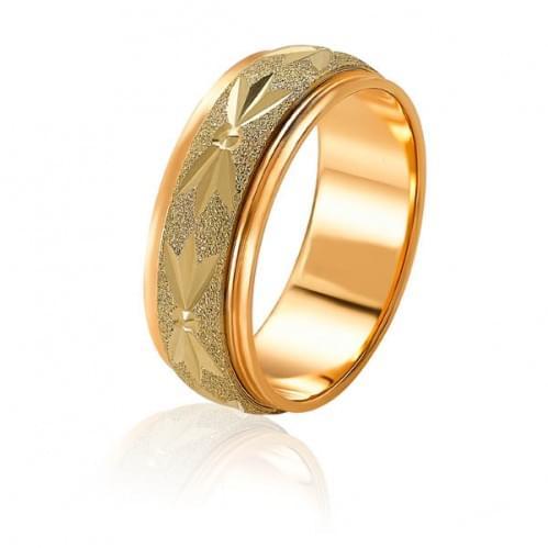 Золотое обручальное кольцо ОК165