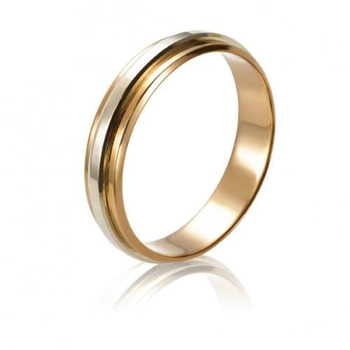Золотое обручальное кольцо ОК216.1