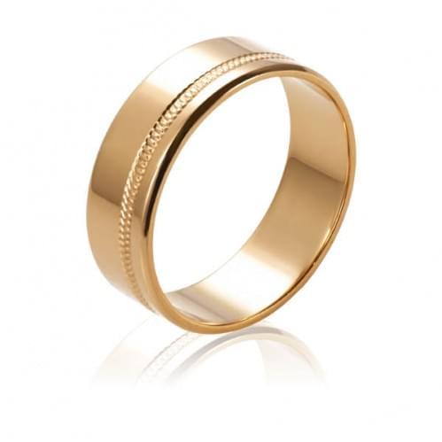 Золотое обручальное кольцо ОК220