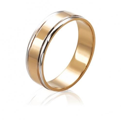 Золотое обручальное кольцо ОК236.1