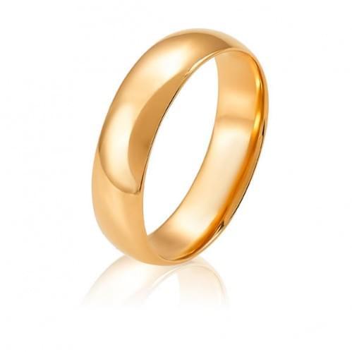 Золотое обручальное кольцо ОК274.6Ки