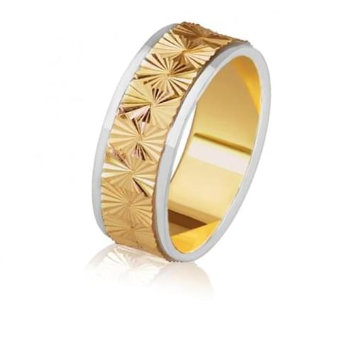 Золотое обручальное кольцо ОК281