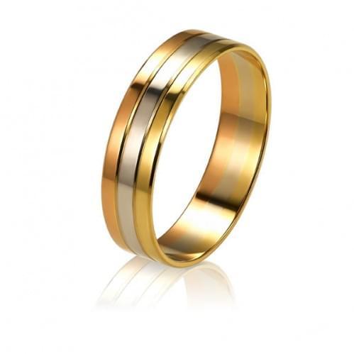 Золотое обручальное кольцо ОК303Р