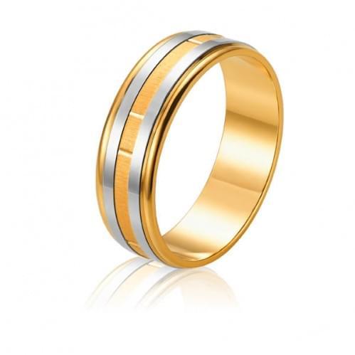 Золотое обручальное кольцо ОК304.1(2)