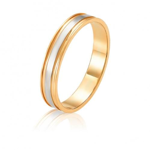 Золотое обручальное кольцо ОК312