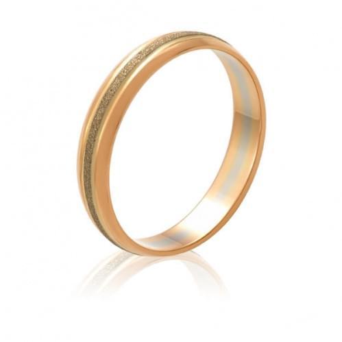 Золотое обручальное кольцо ОК313