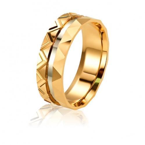 Золотое обручальное кольцо ОК316