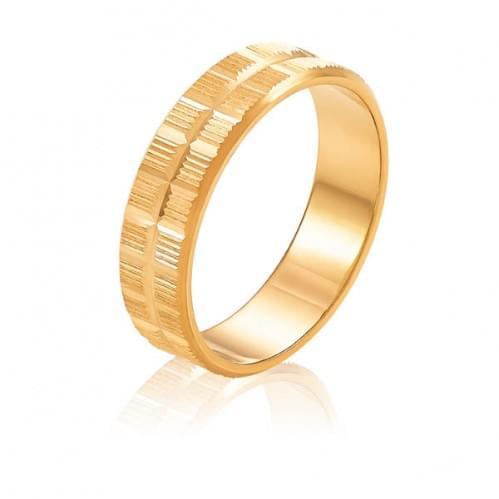Золотое обручальное кольцо ОК320.1