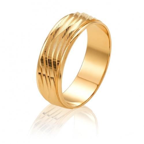 Золота обручка ОК325