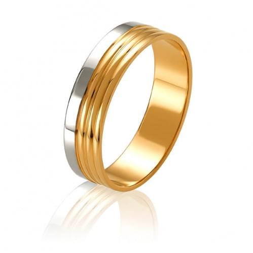 Золотое обручальное кольцо ОК326