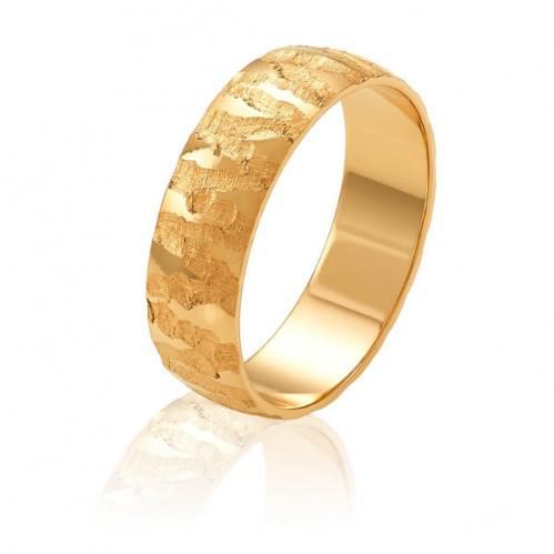 Золотое обручальное кольцо ОК328