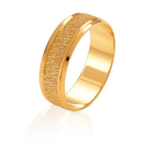 Золота обручка ОК329