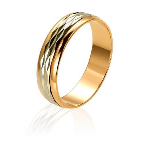 Золотое обручальное кольцо ОК332