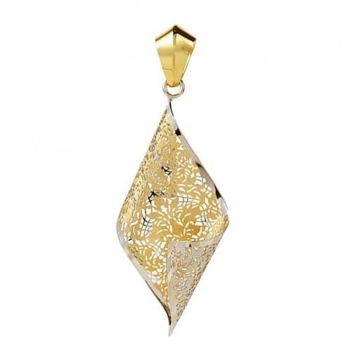 Кулон подвеска из лимонного золота (Флорентино - Collection Florentino) ПБ0005л