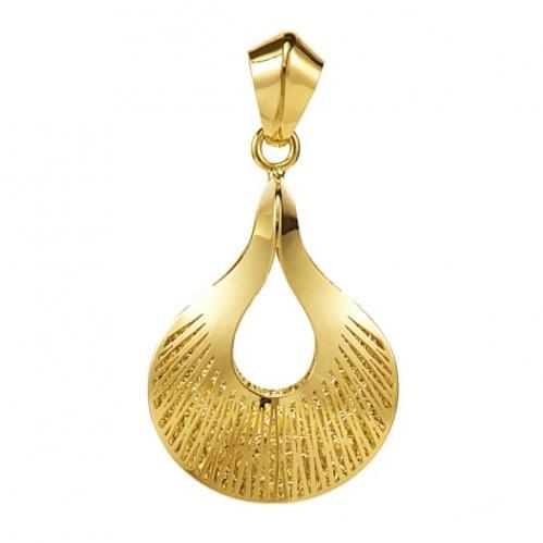 Кулон подвеска из лимонного золота (Флорентино - Collection Florentino) ПБ0011л