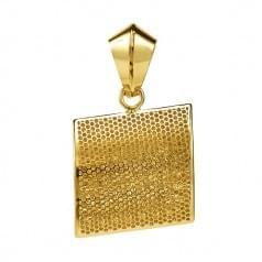 Кулон подвеска из лимонного золота (Флорентино - Collection Florentino)