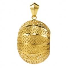 Кулон подвеска лимонное золото (Флорентино - Collection Florentino)