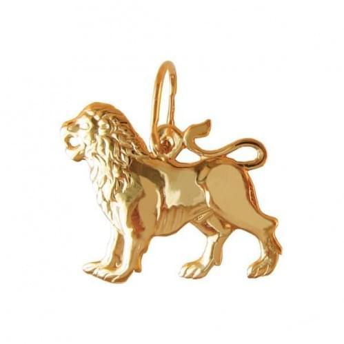 Золотая подвеска-кулон ПБ104и