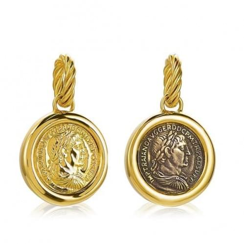 Кулон-подвеска из лимонного золота (Флорентино - Collection Florentino) ПБ1204Л(к)