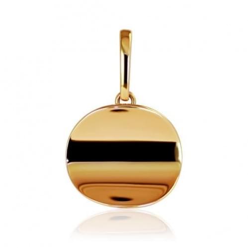 Золотая подвеска-кулон ПБ145и