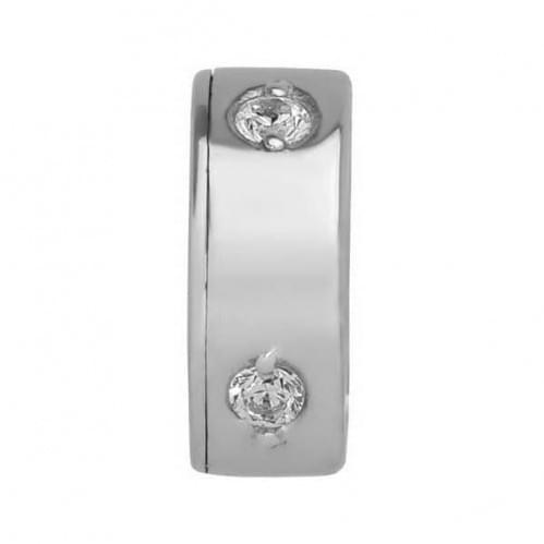 Серебряная подвеска-кулон с фианитом ПВ321с