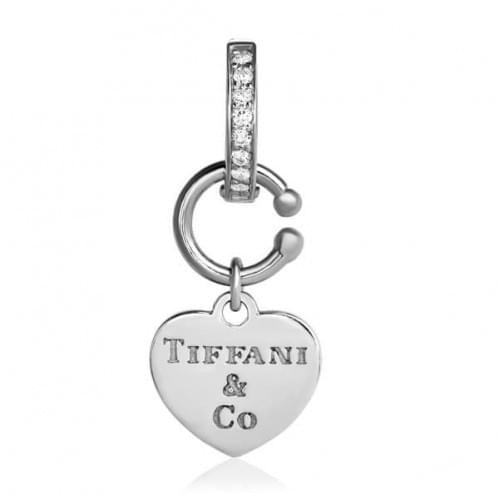 Серебряная подвеска-кулон с фианитом ПВ645(2)с