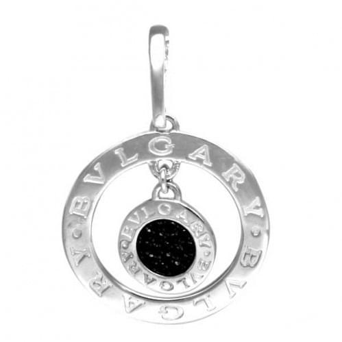 Серебряная подвеска-кулон с цирконием ПВ785.10с
