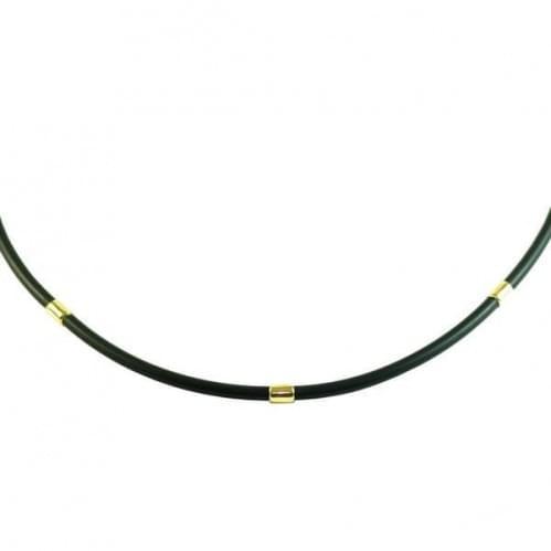 Ювелірний шнурок з лимонного золота ПК009Ли