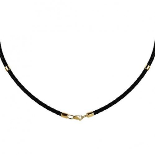 Золотой ювелирный шнурок ПК103и