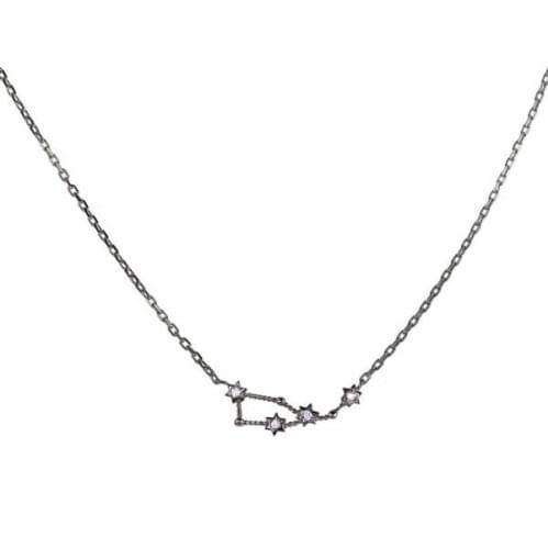 Колье серебряное - украшение