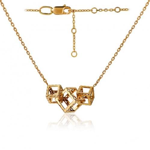 Золоте кольє ПК801(1)и