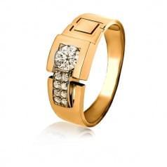 Золотое кольцо для мужчин